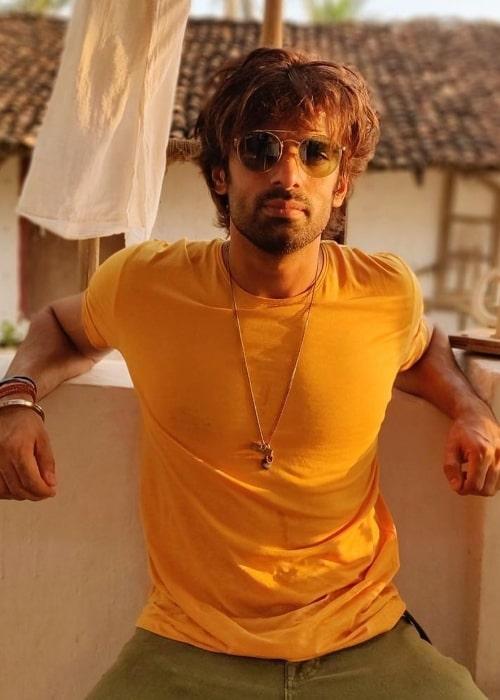 Mohit Malik as seen in September 2020