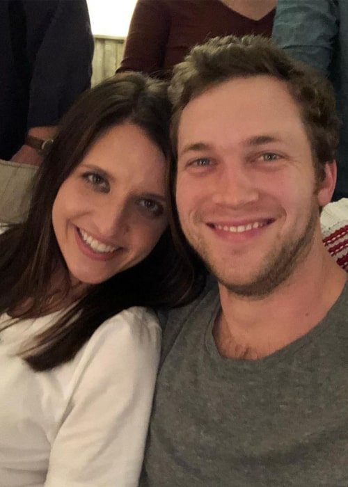 Phillip Phillips and Hannah Blackwell, as seen in December 2018