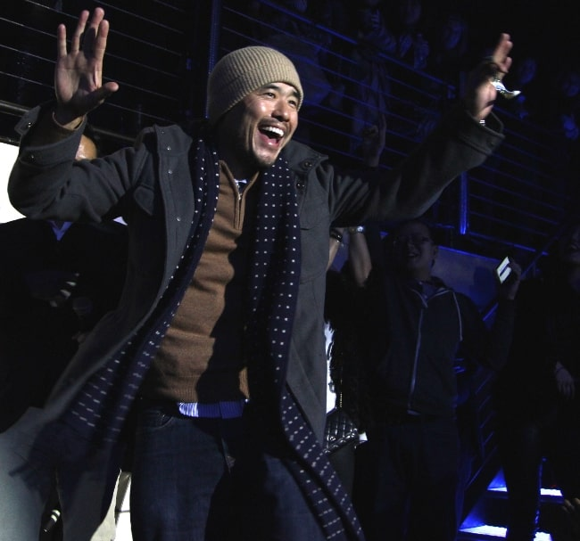 Randall Park as seen at The #FreshOffTheBoat Viewing Party at The Circle NYC on February 4, 2015