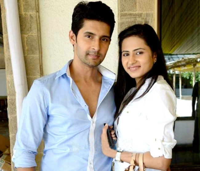Ravi Dubey and Sargun Mehta at the launch party of Bindass's show 'Yeh Hai Aashiqui' in August 2014