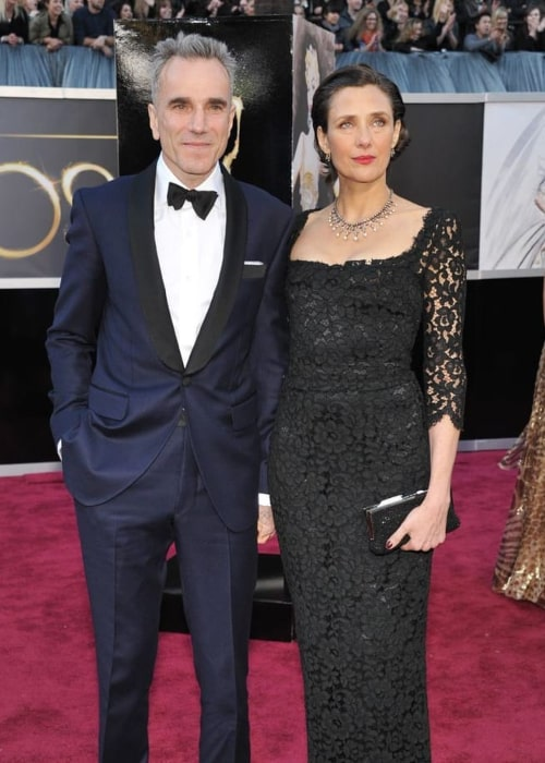 Rebecca Miller and Daniel Day-Lewis, as seen in February 2017