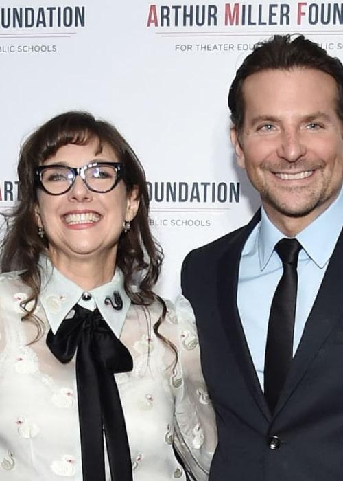 Rebecca Miller with actor Bradley Cooper, as seen in November 2019