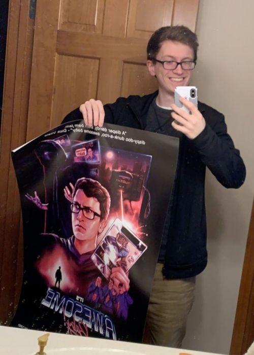 Scott The Woz as seen in a selfie that was taken in April 2020