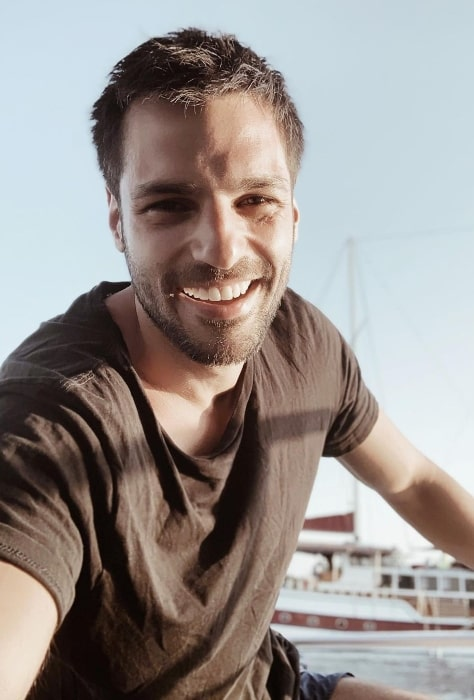 Serkan Çayoğlu as seen while taking a selfie in July 2020