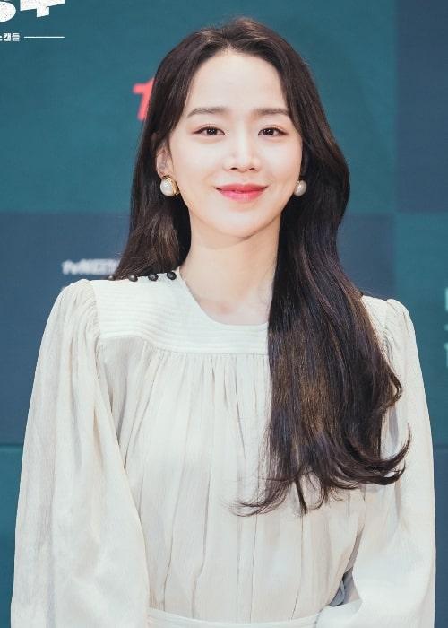 Shin Hye-sun at Mr. Queen Press Conference 2020