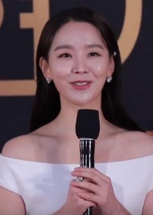 Shin Hye-sun in December 2019