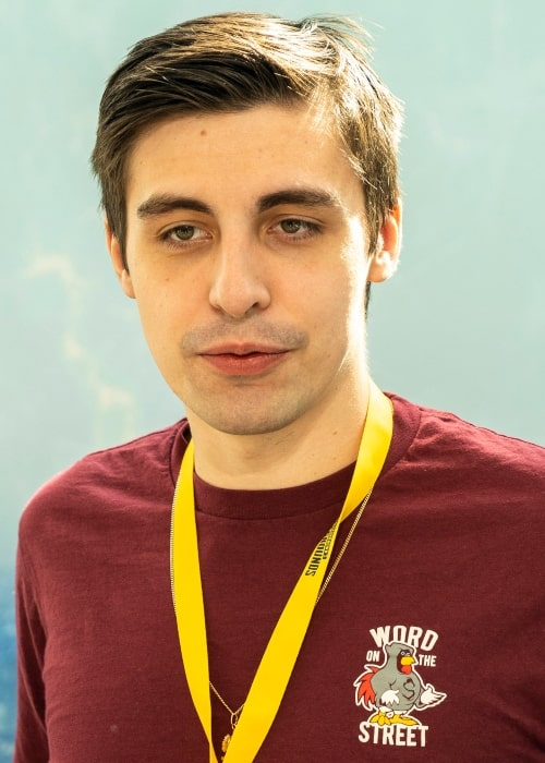 Shroud as seen in a picture that was taken at the PUBG PGI 2018, on July 27