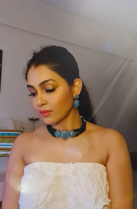 Shubhangi Atre as seen in August 2020