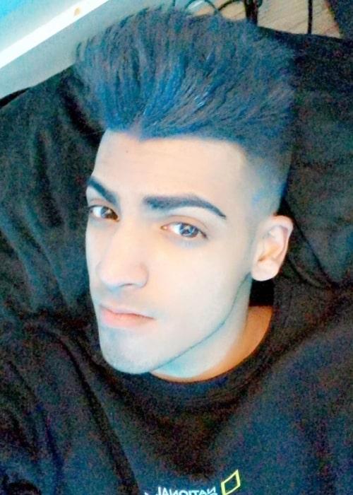 Skeppy as seen in a selfie that was taken in January 2021