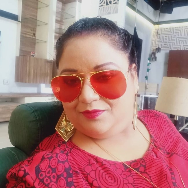 Soma Rathod as seen while taking a selfie in December 2020