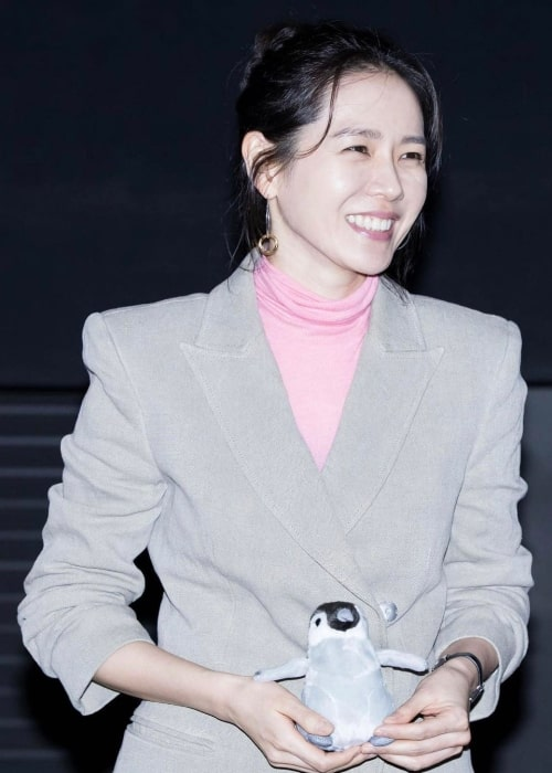 Son Ye-jin as seen during the promotion of 'Be with You' in 2015
