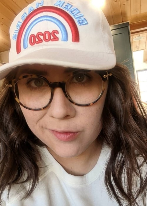 Stacy Hinojosa as seen in a selfie that was taken in November 2020