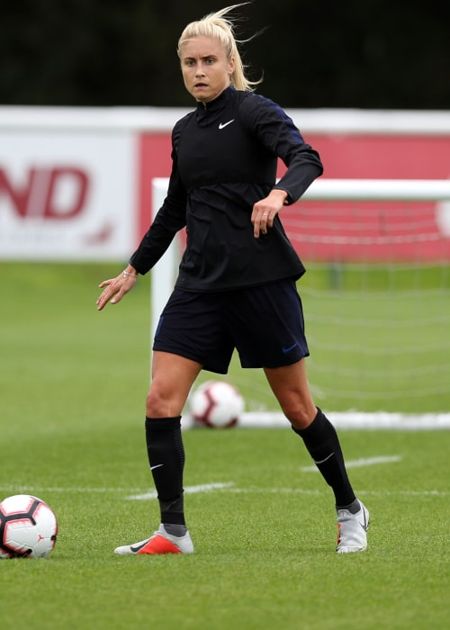 Steph Houghton as seen in an Instagram Post in August 2018