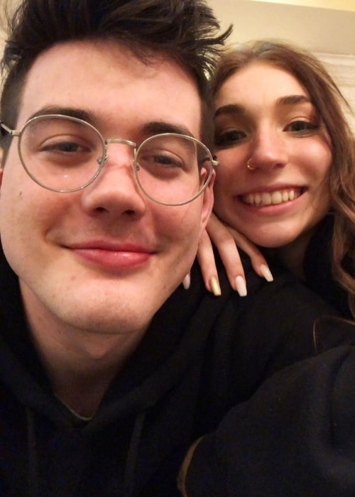 Ted Nivison as seen in a selfie that was taken with MADI in May 2020