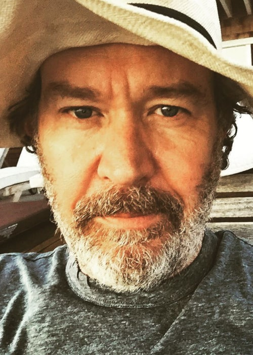 Timothy Hutton in an Instagram selfie from December 2016