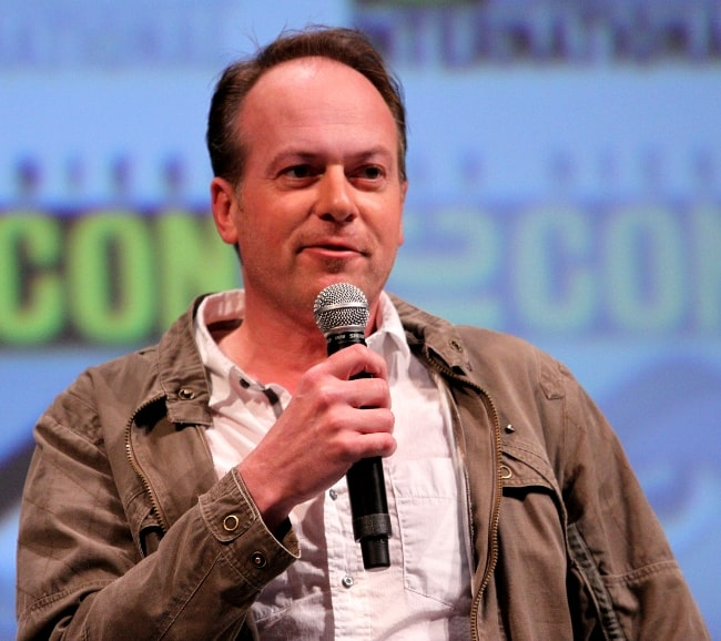 Tom McGrath at the MegaMind panel at the 2010 San Diego Comic Con in San Diego, California