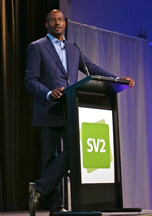 Van Jones as seen while speaking at an event in 2014