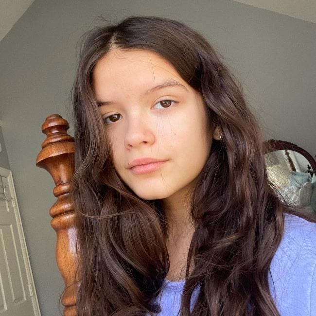 YaYa Gosselin as seen in an Instagram post in Brooklyn, New York in January 2021