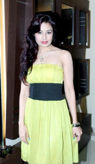 Yuvika Chaudhary as seen at D'damas store in May 2012