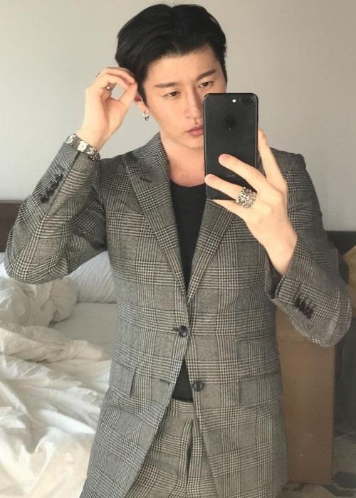 Zach Choi as seen in a selfie that was taken in June 2020