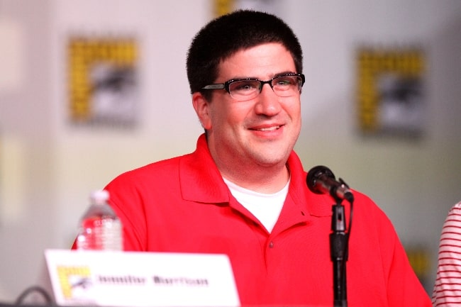 Adam Horowitz pictured while speaking at the 2012 San Diego Comic-Con International in San Diego, California