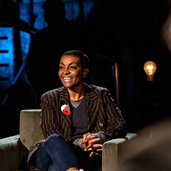 Adjoa Andoh as seen in a picture that was taken in November 2020
