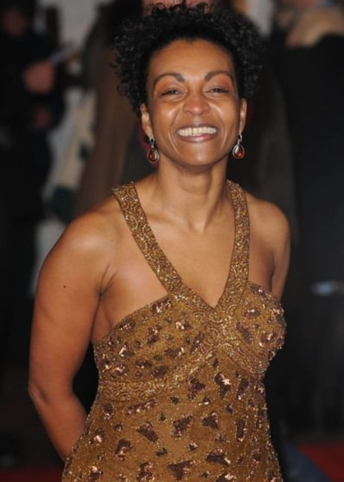Adjoa Andoh at the Invictus movie premiere on April 15, 2020