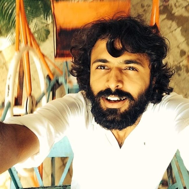 Advait Chandan as seen while taking a selfie in December 2013