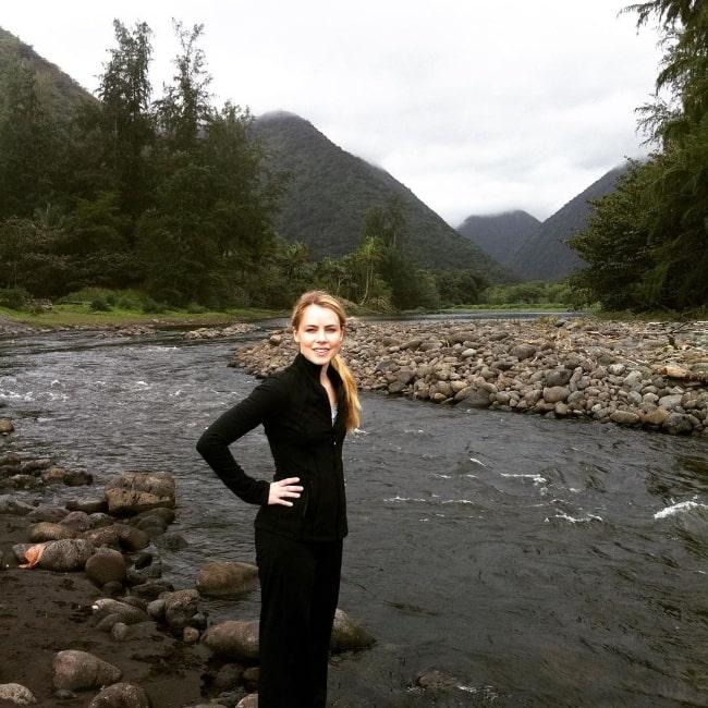 Amanda Schull as seen in an Instagram post in April 2020