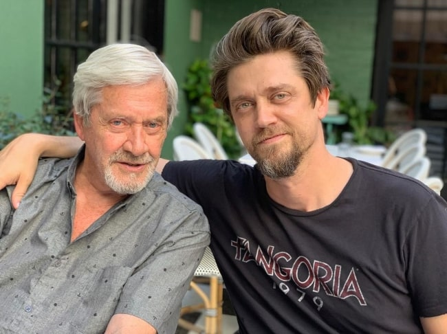 Andy Muschietti in September 2019 wishing his hero, teacher, friend, and father a very happy birthday