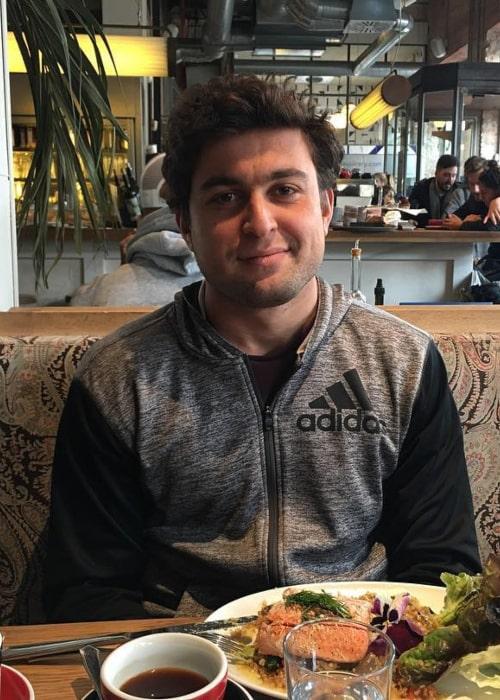 Aslan Karatsev as seen in an Instagram Post in March 2018