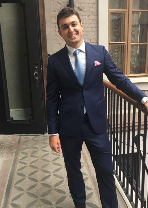 Aslan Karatsev as seen in an Instagram Post in September 2017