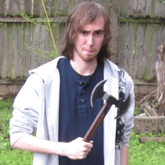 Asmongold as seen in a picture that was taken in August 2019