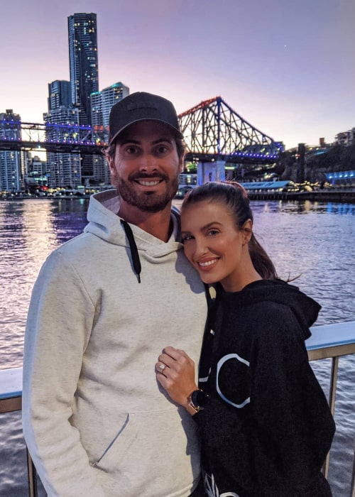 Ben Cutting and Erin Holland, as seen in May 2020