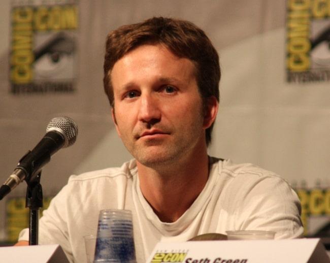 Breckin Meyer at the Robot Chicken panel in July 2009