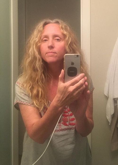 Brooke Smith as seen in a selfie that was taken in September 2020