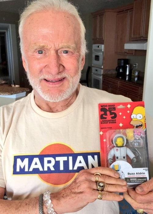 Buzz Aldrin as seen in an Instagram Post in August 2017
