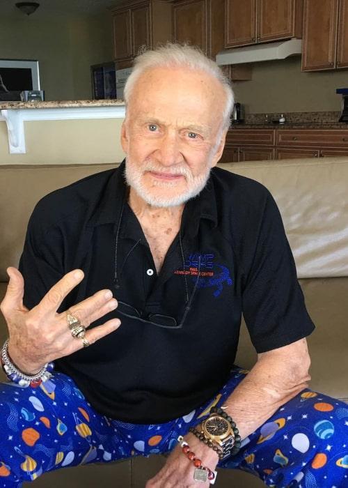 Buzz Aldrin as seen in an Instagram Post in June 2017