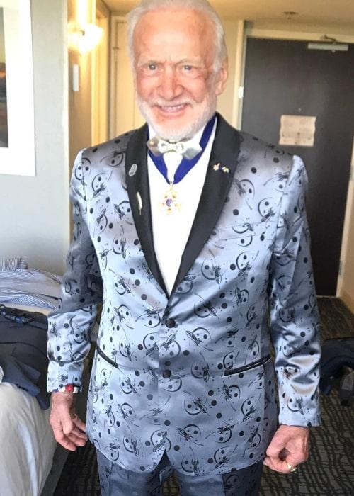 Buzz Aldrin as seen in an Instagram Post in May 2017