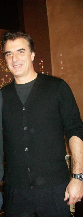 Chris Noth at his Tea Shop 'Once Upon A Tea Cup' in Windsor, Ontario, Canada on February 9, 2008