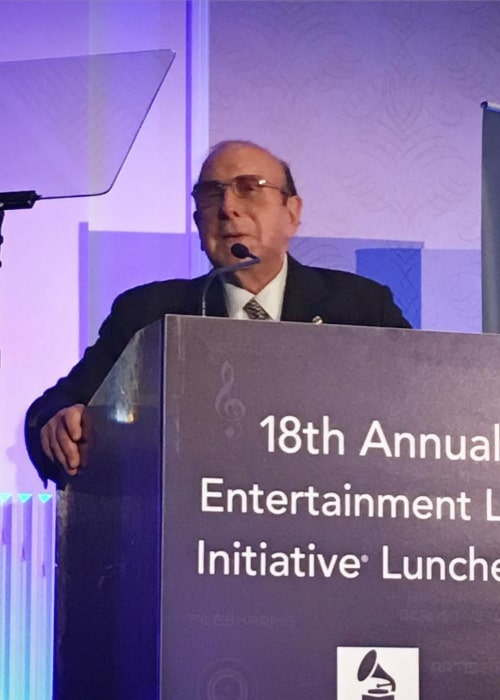 Clive Davis as seen in an Instagtram Post in February 2016