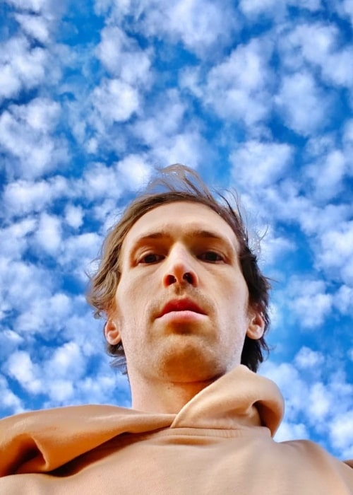 Daryl Wein as seen while taking a selfie in December 2020