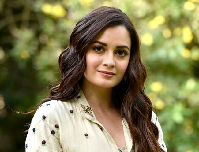 Dia Mirza snapped during a photo shoot for World Environment Day in June 2018