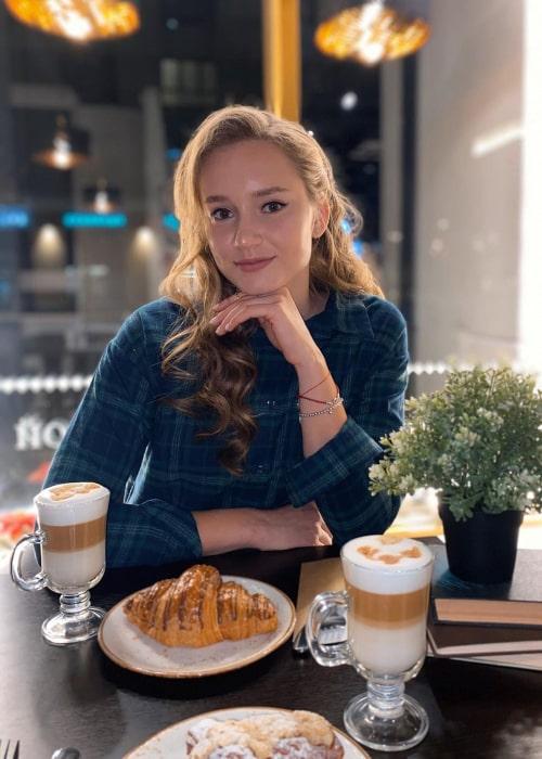 Elena Rybakina as seen in an Instagram Post in November 2020