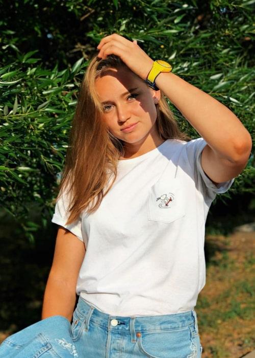 Elena Rybakina as seen in an Instagram Post in September 2019