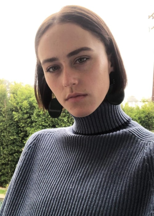 Ella Emhoff as seen in an Instagram Post in January 2018