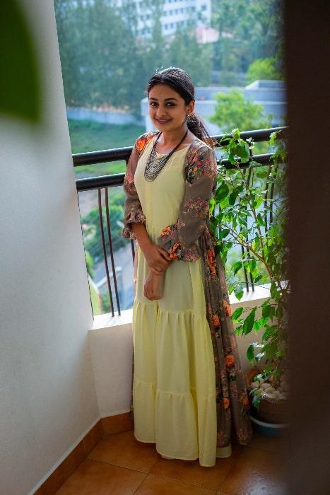 Esther Anil in December 2018