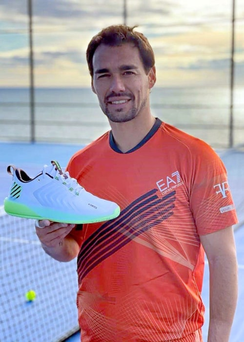 Fabio Fognini as seen in an Instagram Post in February 2021