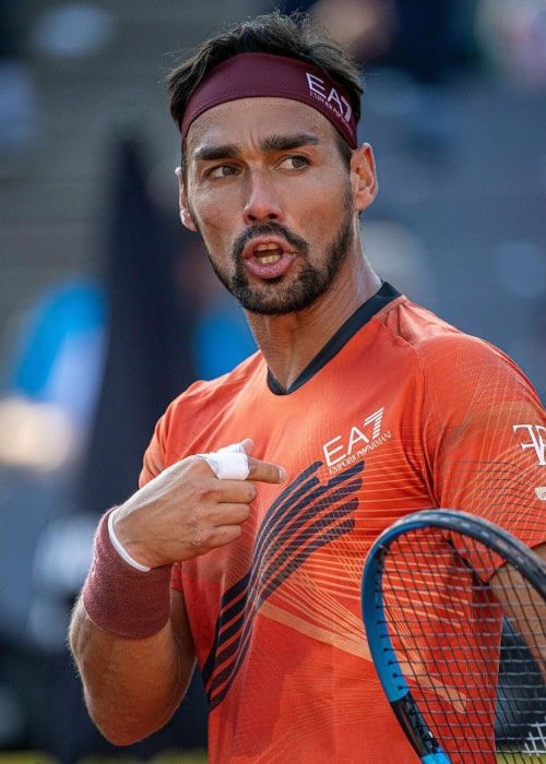 Fabio Fognini as seen in an Instagram Post in September 2020