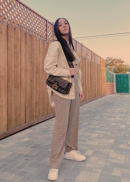 Franny Arrieta as seen in a picture that was taken in Los Angeles, California in November 2020
